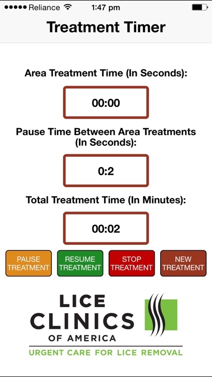 LCOA - Treatment Timer screenshot-3