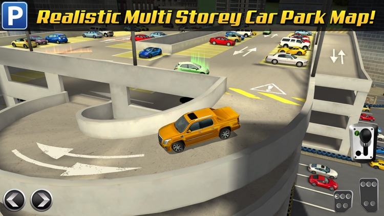 Multi Level 3 Car Parking Game Real Driving Test Run Racing