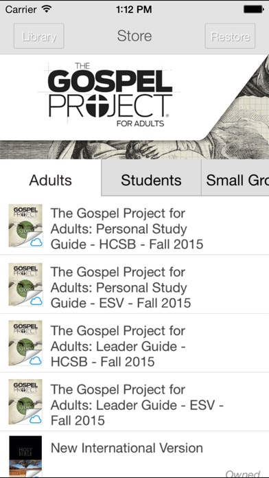 download The Gospel Project apps 2