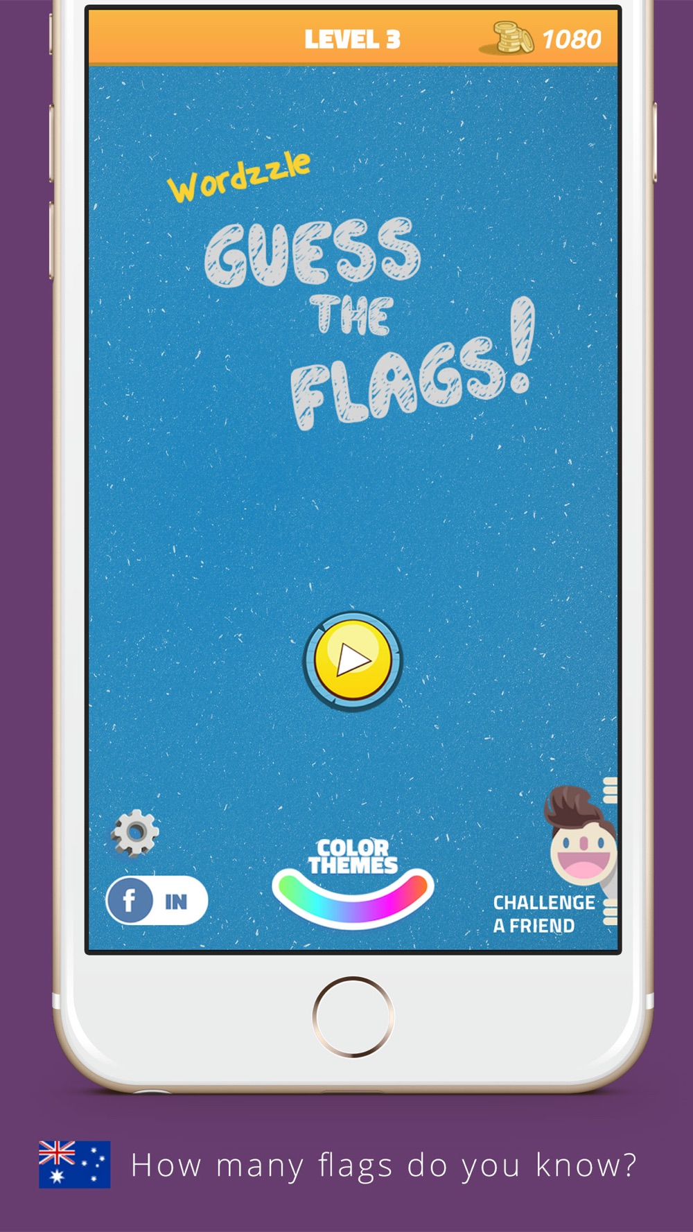 Wordzzle for Flags – What's this country's flag? Cheat Codes
