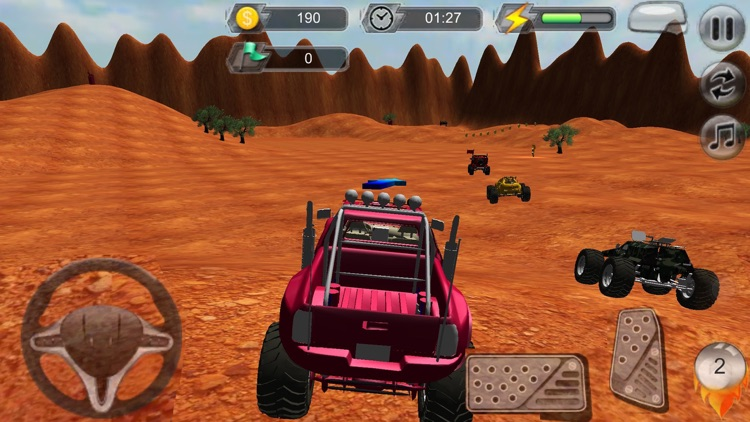 4x4 monster truck off road Furious Extreme Racing screenshot-3