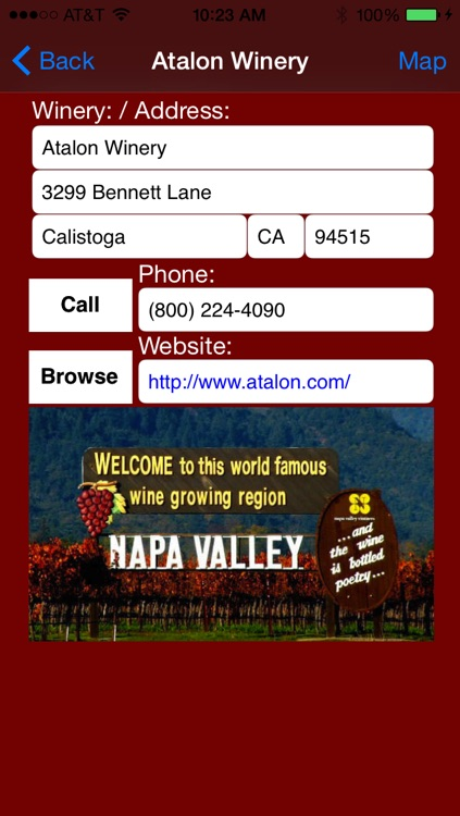 Napa Valley Winery Finder screenshot-3