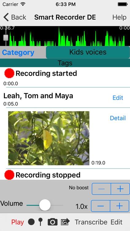 Smart Recorder DE Classic - The transcriber and voice recording app