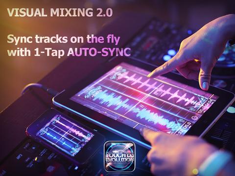 Touch DJ™ Evolution - Visual Mixing, Key Lock, AutoSyncのおすすめ画像3
