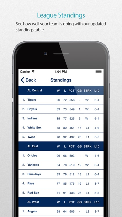 NYY Baseball Schedule Pro — News, live commentary, standings and more for your team! screenshot-3