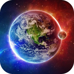 Galaxy Space Wallpapers & Backgrounds - Custom Home Screen Maker with HD Pictures of Astronomy & Planet