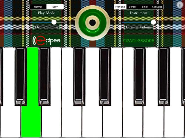 ePipesKeys HD Ultimate Bagpipes Keyboard
