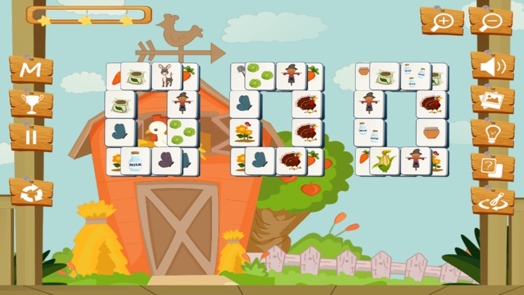 Happy Farm Mahjong screenshot-3