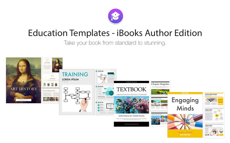 Education Templates iBooks Author Edition | App Price Drops