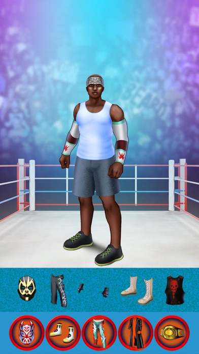 My World Champion Crazy Power Wrestlers Dress Up Club Game - Free App screenshot four