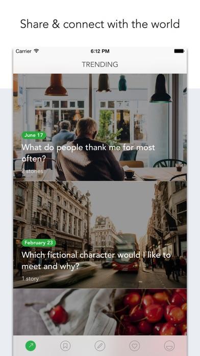 Loopify - Creative Q&A Journal Screenshot on iOS