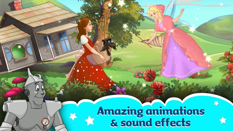 The Wizard Of Oz -  All In One Education Center & Interactive Storybook for Kids screenshot-2