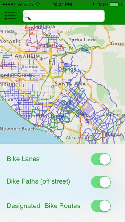 California Bike App
