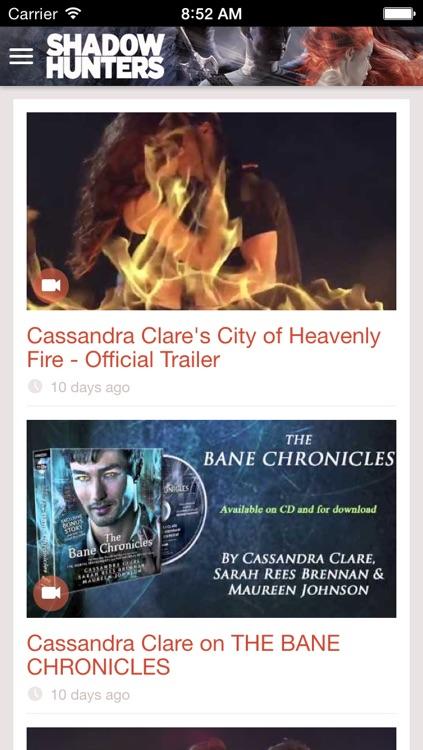 Cassandra Clare's Shadowhunters screenshot-3