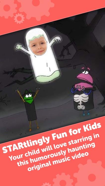 A StoryBots Halloween - Starring You as a Ghost, Vampire, Frankenstein, Werewolf & Mummy for Kids, Parents, Teachers