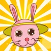Active Easter Bunny Learning Game for Children