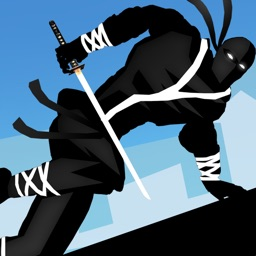 Ninja Parkour Dash: Escaping Vector Samurai & Jumping Sensei's Banzai & Throw-ing Shurikens