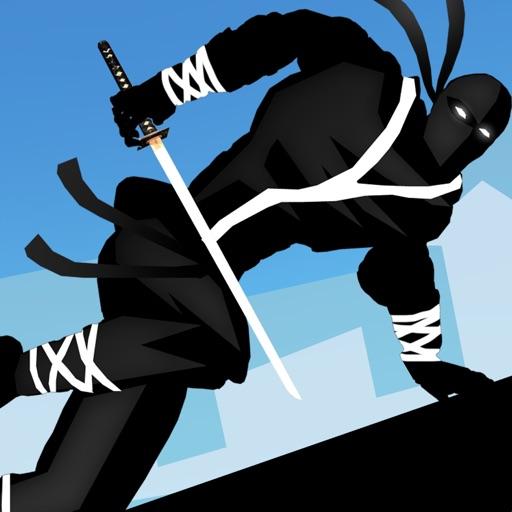Ninja Parkour Dash: Escaping Vector Samurai & Jumping Senseis Banzai & Throw-ing Shurikens
