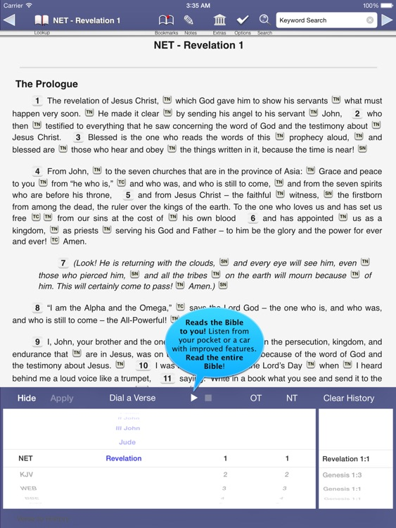 Touch Bible - Offline Bible with Study and Audio screenshot-0