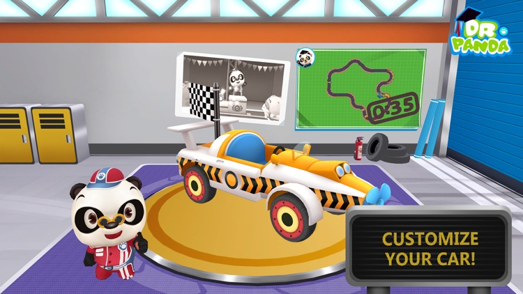 Dr. Panda Racers screenshot-0