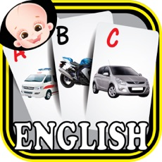 Activities of Kids Vehicles ABC Alphabets Flash Cards