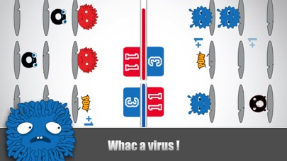 Virus Vs. Virus Delux (multiplayer versus game collection) screenshot three