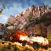 自由のための3D戦闘走行速度シューティングゲーム