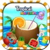 Tropical Matching Blitz Mania – Have Fun in the Sun with this Free Match 3 Candies Top Game for Kids and Adults