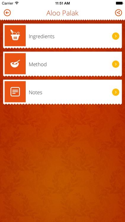 INDIAN RECIPES. screenshot-3