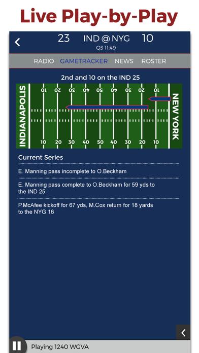 New York Football Radio & Live Scores screenshot two