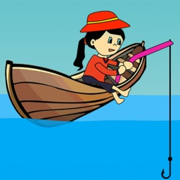 Girl Fishing Games : For Kids Play Catch And Hunting  Big Fish Game