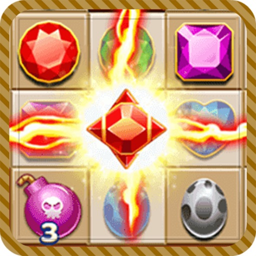 Jewels Match Deluxe: Hero Game Jem