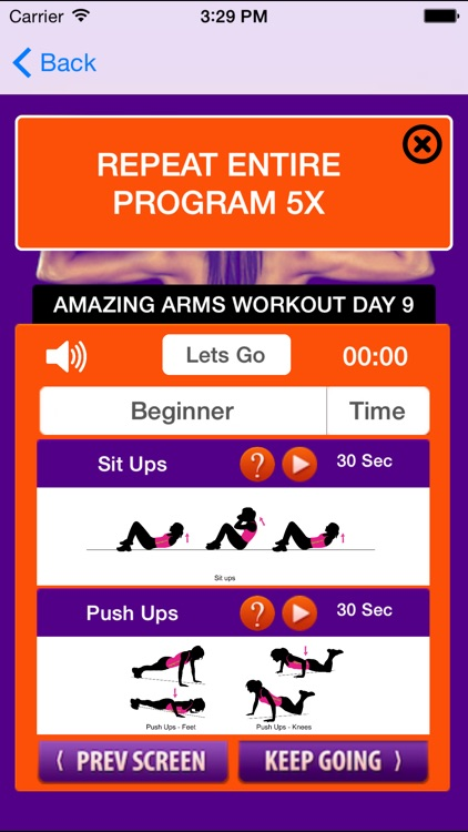 21 day arm workouts plan: fitness trainer arm workouts to get tone & sexy arms screenshot-3