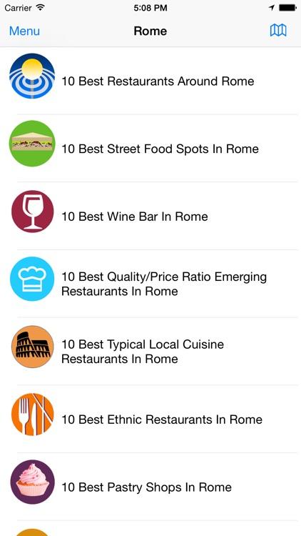 Foodies 10 Best Rome Italy
