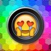 Emoji Stickers Camera (Photo Effects + Camera + Stickers + Emoji + Fun Words Meme) - iPhoneアプリ