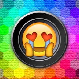 Emoji Stickers Camera (Photo Effects + Camera + Stickers + Emoji + Fun Words Meme)