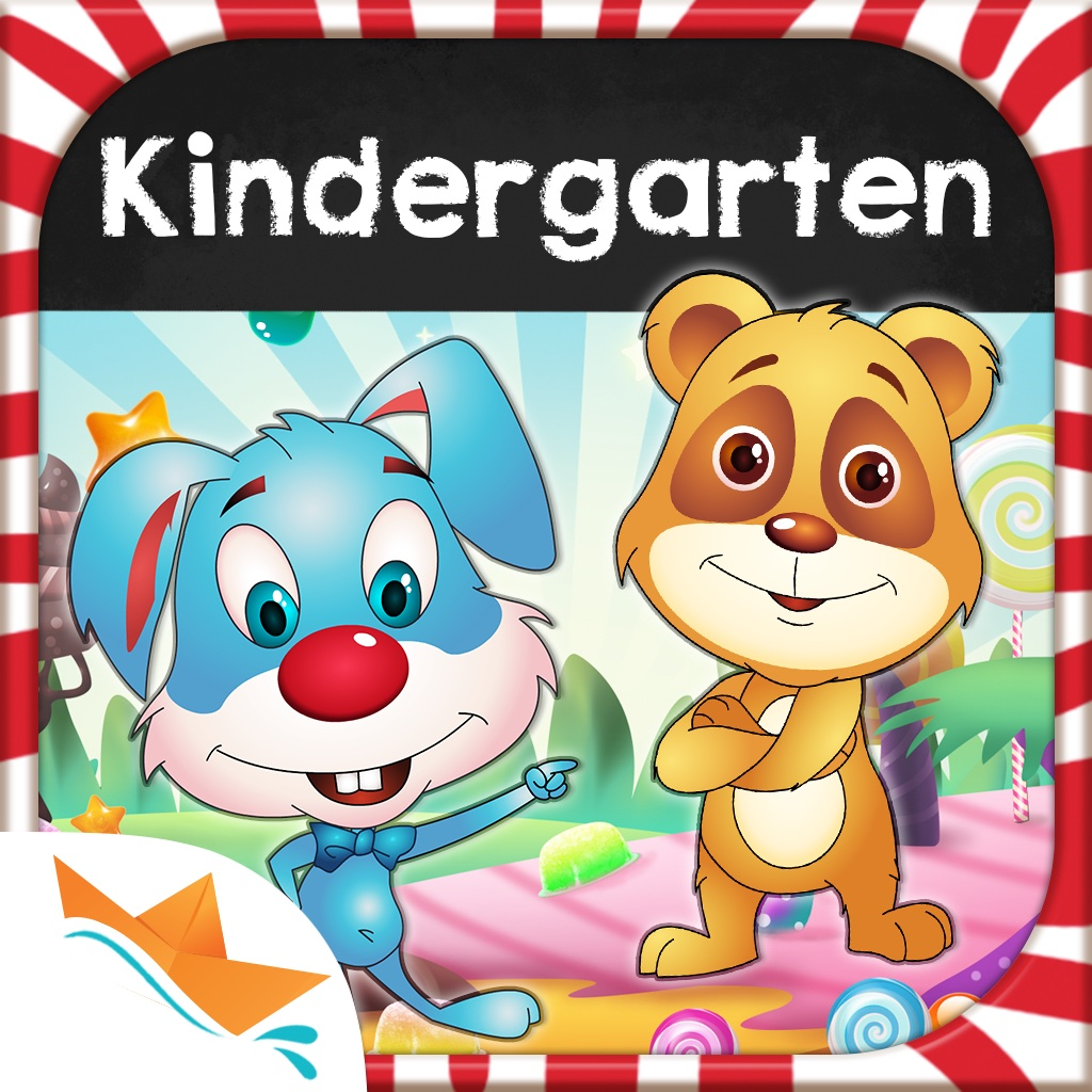 Candy Town Kindergarten - Kids educational app