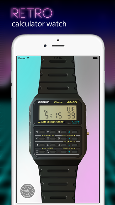 Geek Watch - Retro Calculator Watchのおすすめ画像1