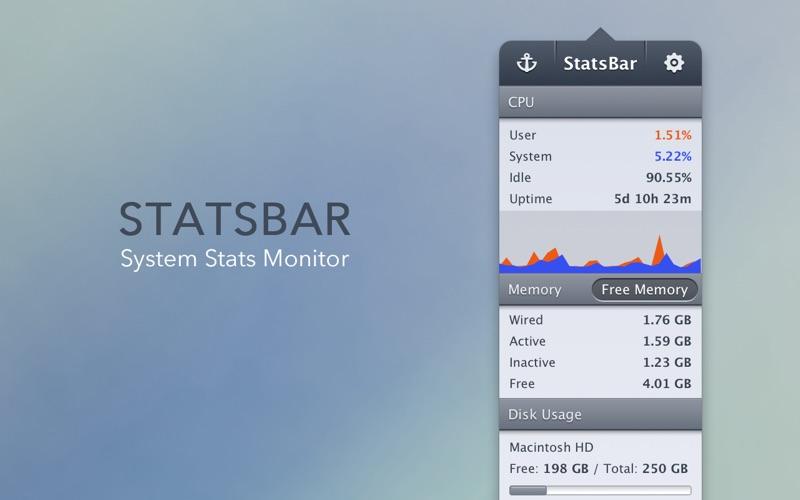 StatsBar Screenshot