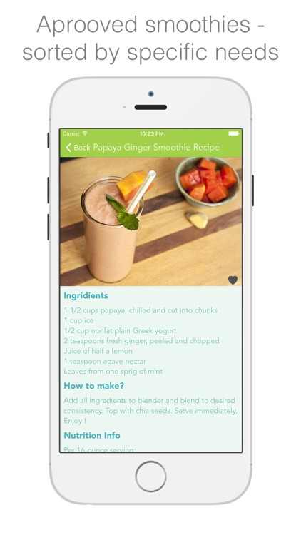 Protein Smoothies - smoothies & shakes for healthy living screenshot-1