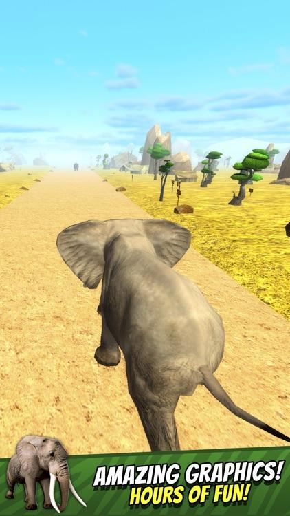 Safari Run Free - Wild Animal Jam Running Survival Games for Kids screenshot-4