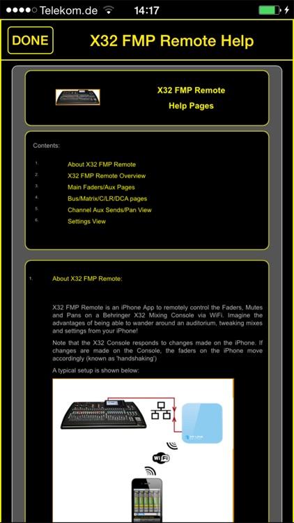 X32 FMP Remote screenshot-3