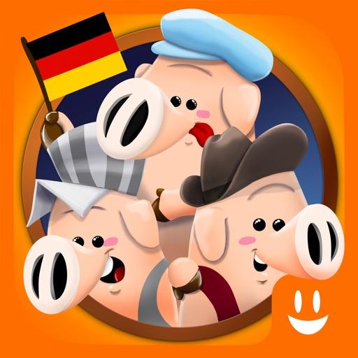 Drei kleine Schweinchen: Geschichte & Spiele