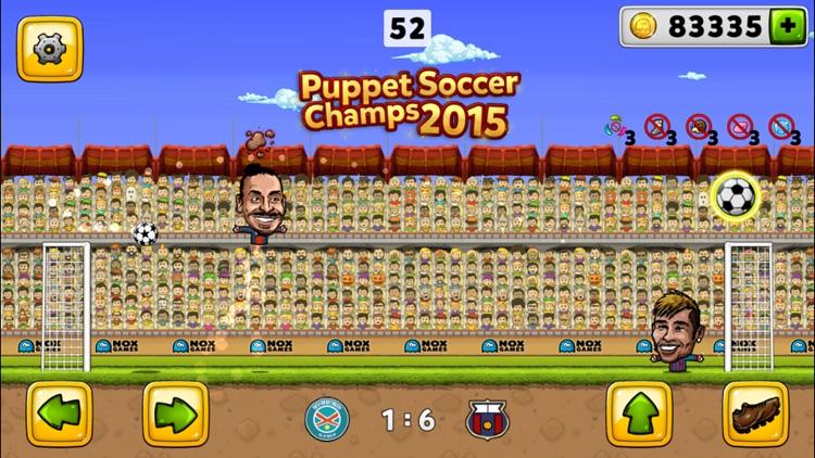 Puppet Soccer Champion 2015 screenshot-0