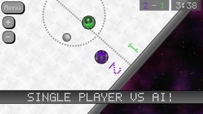 Screenshot from Bumper Kart Hockey Free