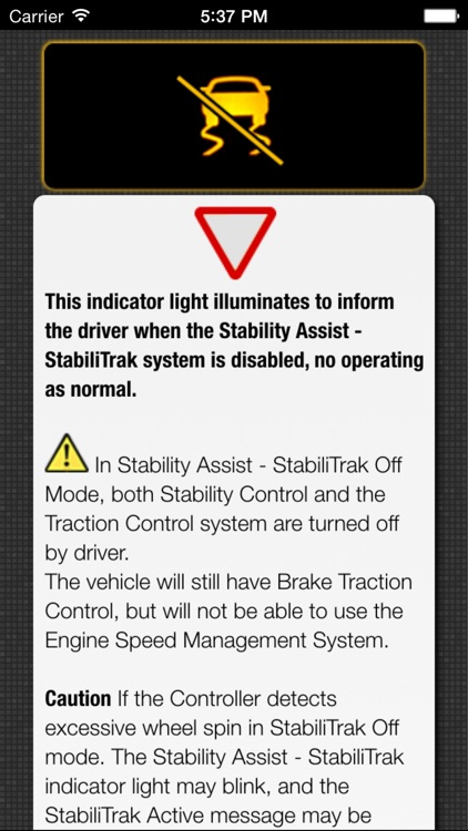 App for Saab Cars - Saab Warning Lights & Road Assistance - Car Locator screenshot-4