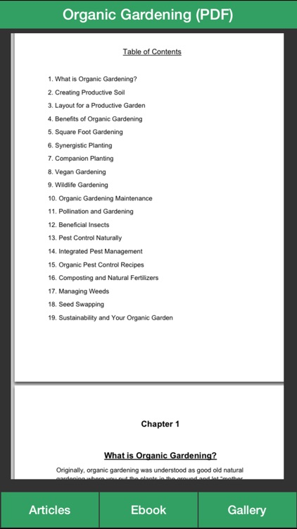 Organic Gardening Guide - A Guide To Growing Your Own Organic Vegetables screenshot-3