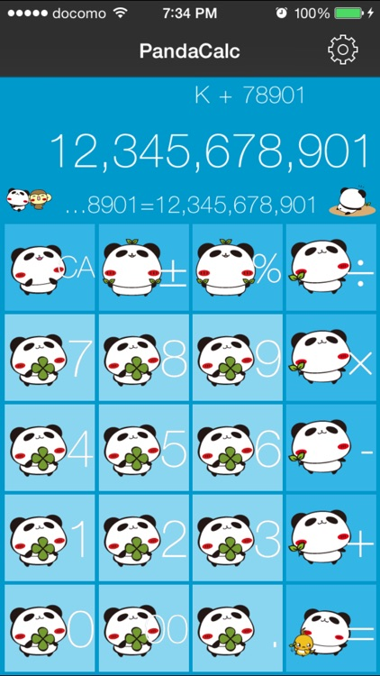PandaCalc screenshot-3