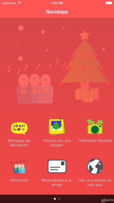 Feliz Navidapp Screenshot
