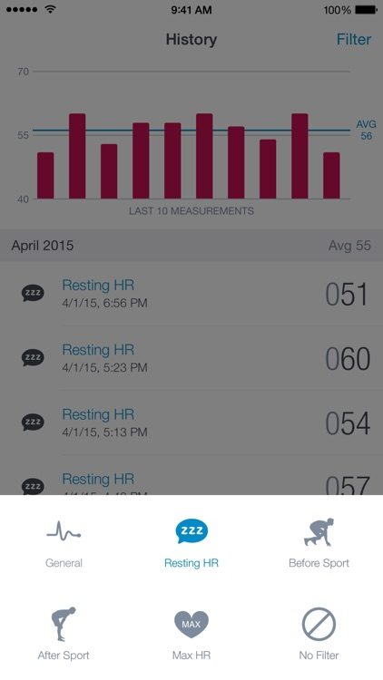Runtastic Heart Rate PRO screenshot-3